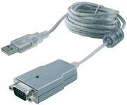 EXSYS USB-A - RS232 Adapterkabel, FTDI Chipsatz, 1.8 m KabelUSB-A Stecker auf 9 Pol Sub-D