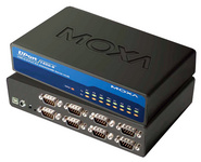 MOXA USB 2.0 auf RS-232/422/485 Hub, 8-fach, Desktop1 x USB-B Kupplung - 8 x 9 Pol Sub-D