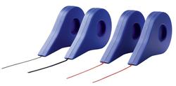 NOBO Gitterband, selbstklebend, 3 mm x 10 m, rotideal um Linien oder Raster auf Boards au