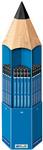 STAEDTLER Bleistift Mars Lumograph,90er Display in StiftformMinenstärke: ca. 2 mm, sechse